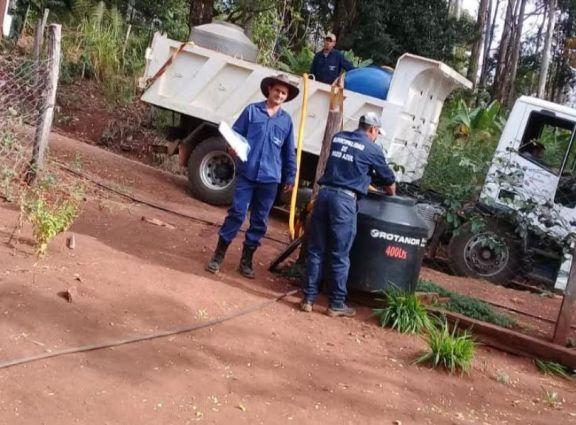 Se agrava la crisis hídrica en Pozo Azul