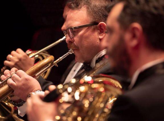 Bronces y percusión, un concierto distinto en el Teatro Lírico