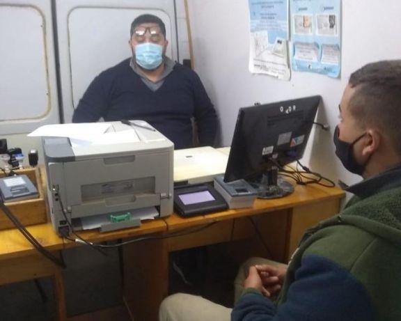 Pese a la lluvia, el móvil de documentación rápida realiza operativo en Tobuna