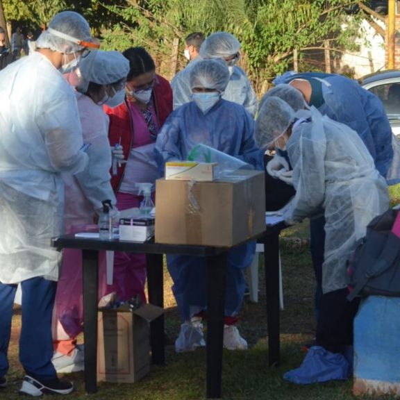 Santo Tomé tiene más de 230 casos activos de Covid-19, 50 detectados en las últimas 24 horas