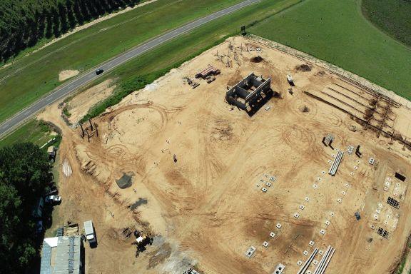 Avanza la construcción de la Estación Transformadora del Parque Industrial Ituzaingó