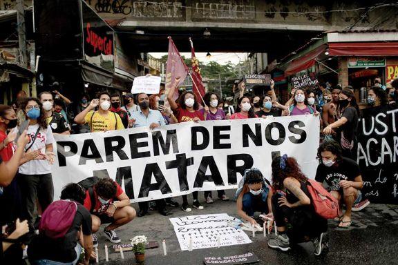 Protestas tras las ejecuciones