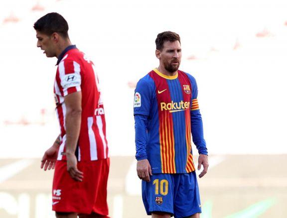 Barcelona y Atlético Madrid empataron y el final del torneo queda abierto