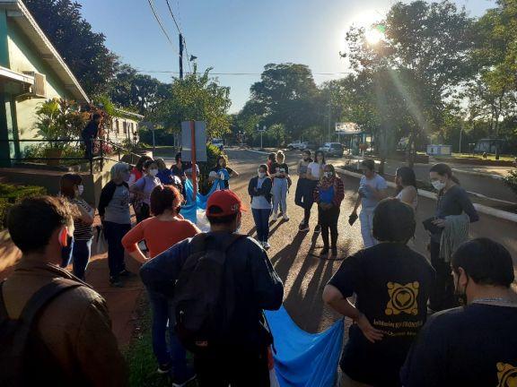 Marcharon en Libertad para exigir justicia por las víctimas del empleado municipal acusado de abuso y grooming