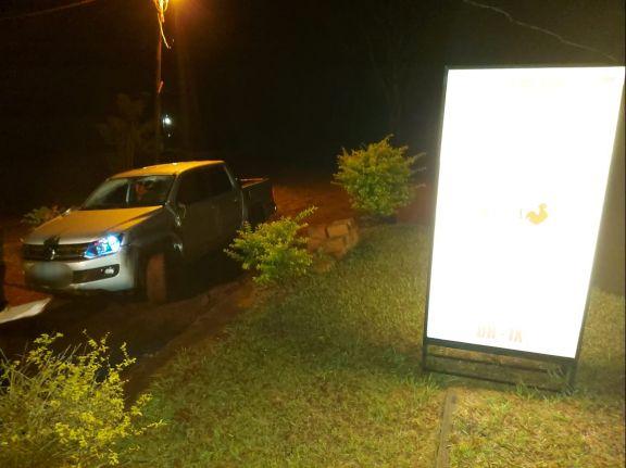 Recuperaron en Hipólito Yrigoyen una camioneta robada en Buenos Aires