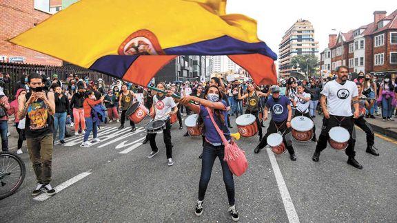 Colombia continúa agitada  y Duque admitió la represión
