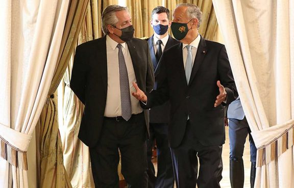 """Fernández: """"Venimos a ratificar nuestros acuerdos con Europa"""""""