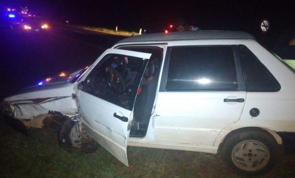Conducía borracho, provocó un choque múltiple y fue detenido
