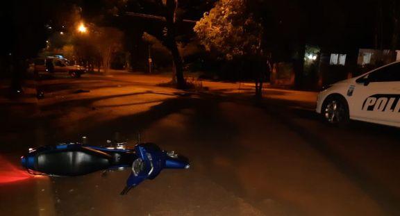 Motociclista grave tras despistar en Eldorado