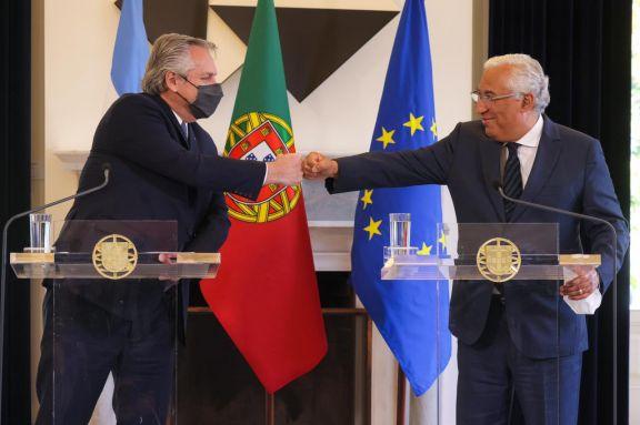 El Primer Ministro de Portugal apoyó la posición de la Argentina en las negociaciones con el FMI