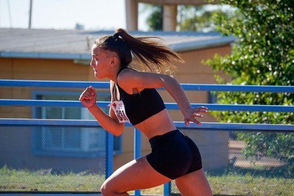 Atletas sampedrinos sumaron buenas marcas y sueñan con competir a nivel nacional