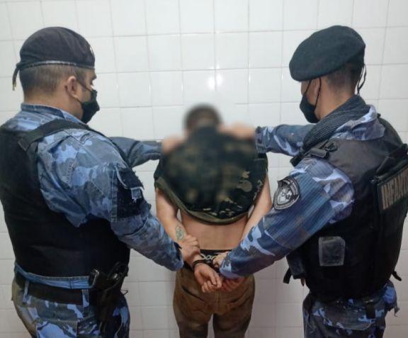 Atrapan en Irigoyen a delincuentes que se habían fugado de una cárcel de Brasil