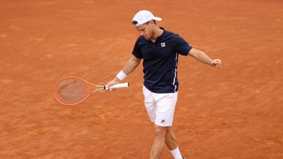 Schwartzman, eliminado en su debut en el Masters 1000 de Roma