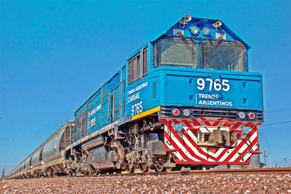 Registran récord de toneladas transportadas en trenes de carga