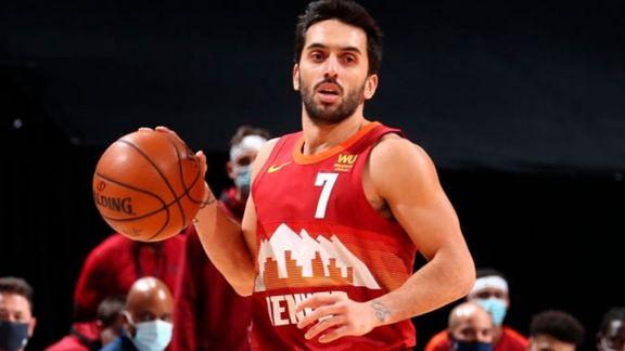 Campazzo se inspiró al final para que los Nuggets vuelvan a la victoria en la NBA