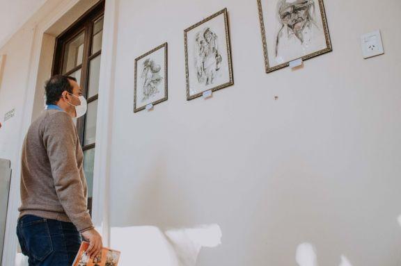 El homenaje a Mandové Pedrozo inició esta mañana y 25 de sus obras serán expuestas en el museo Juan Yaparí