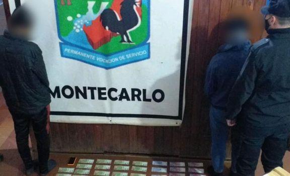 Montecarlo: robaron en casa de una anciana y en la huída por un camino vecinal fueron capturados