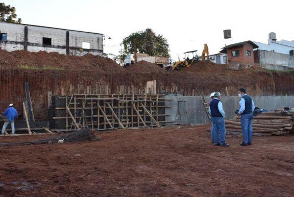 Inician con las obras para el nuevo edificio municipal en San Pedro