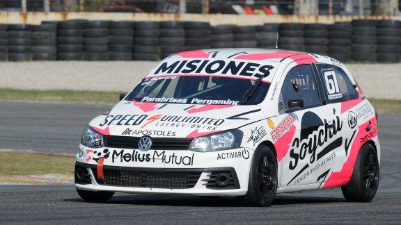 Bustos quedó 15° en la primera clasificación de la Clase 2 en Buenos Aires