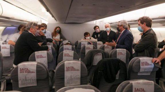 Alberto Fernández cerró su gira en Europa y regresa a la Argentina