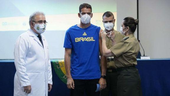 Juegos Olímpicos: Brasil inició la vacunación de sus representantes contra el Covid-19