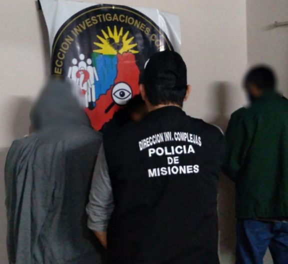 Capturaron a tres hombres señalados por robos en Candelaria, Puerto Rico y Virasoro