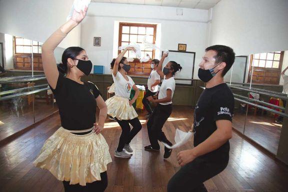 Herencia  de baile y destreza