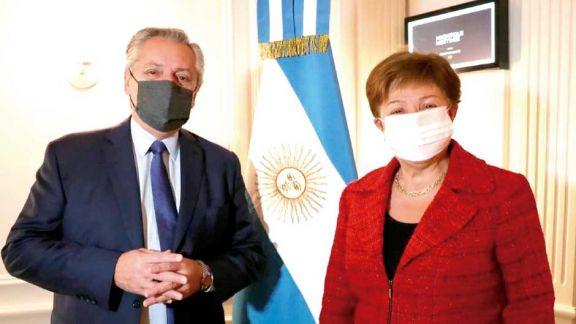 Alberto con Georgieva: una reunión que allana el camino para un acuerdo