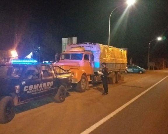Interceptaron dos camiones con soja ilegal en Aristóbulo del Valle y San José