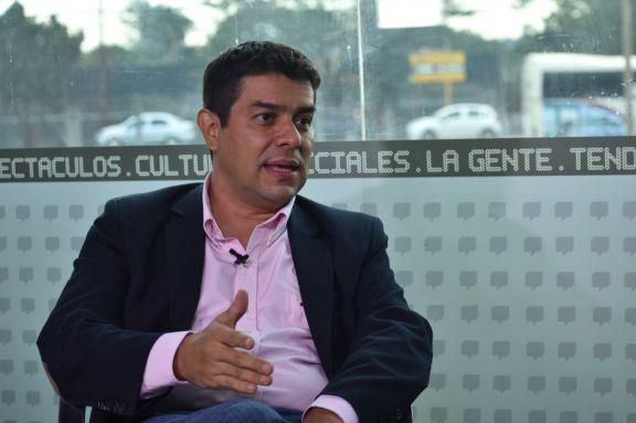 Horacio Martínez, primer candidato a concejal por la lista impulsada por el intendente Stelatto