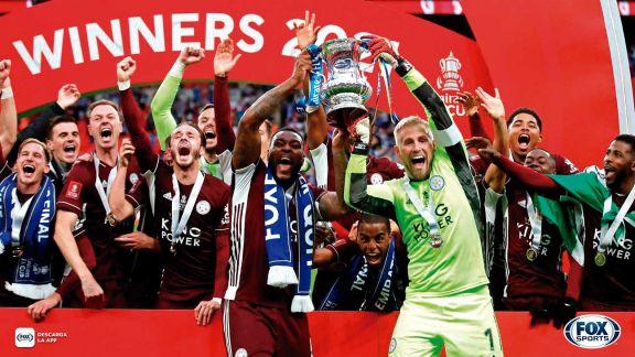 Leicester derrotó a Chelsea y conquistó FA Cup por primera vez en su historia