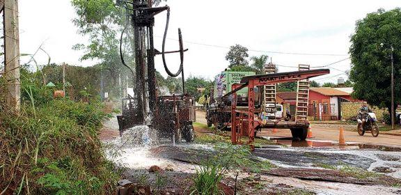 Puerto Iguazú: en dos semanas funcionarían los nuevos pozos