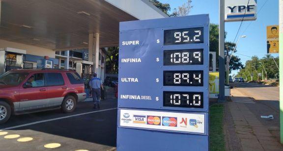 Y aumentó el combustible en Iguazú y varias localidades más de Misiones