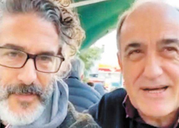 'Merlí' se divierte dando una vuelta por Buenos Aires