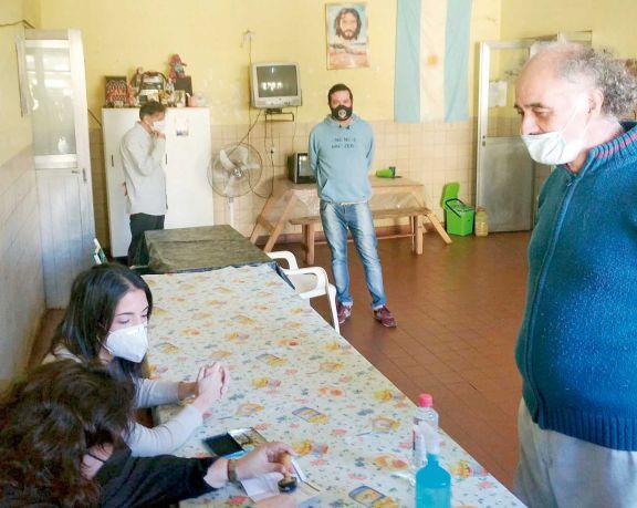 Adultos en situación de calle fueron refugiados en el Catam