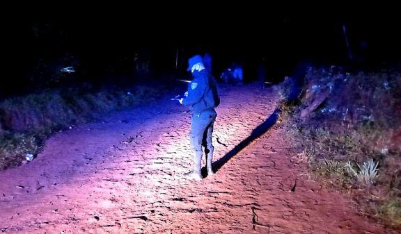 Joven del Ejército en grave estado tras despistar con la moto