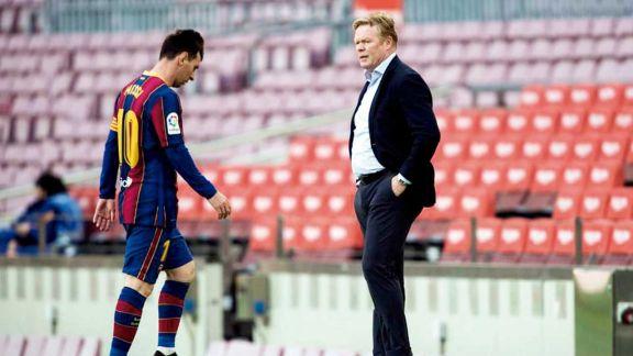 En España aseguran que Koeman no seguirá en el Barsa