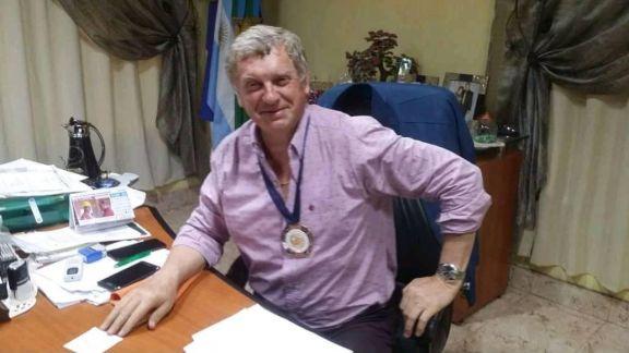 Despidieron los restos del intendente Felipe Jeleñ
