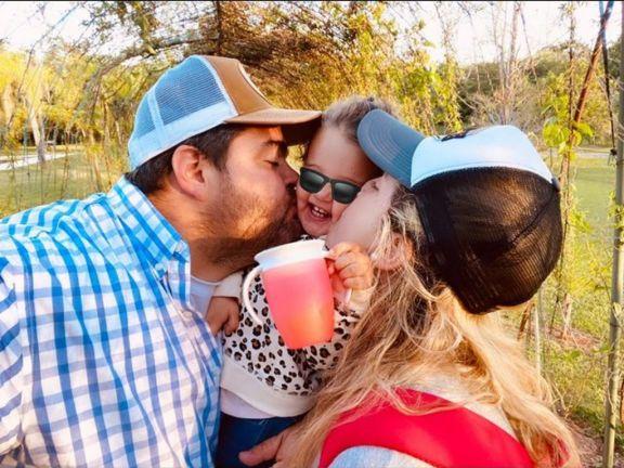 Darío Barassi pasó un fin de semana familiar en las Cataratas del Iguazú