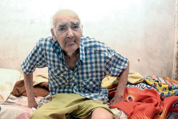 Abel Barrios, el vecino de Santa Rita de 114 años