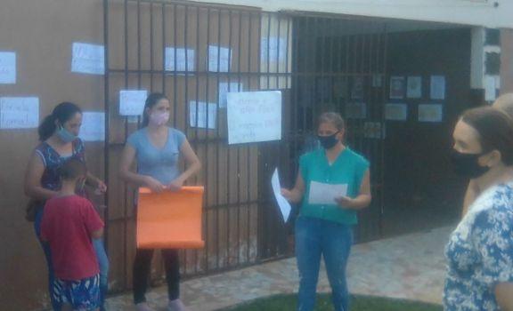 San Antonio: padres de la escuela 287 del Paraje Pedro Giachino tomaron el edificio