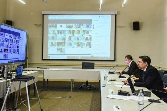 Trotta convocó a todos los ministros de educación del país a evaluar el sistema bimodal