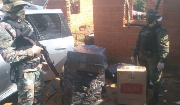 Prefectura secuestró un cargamento millonario de cigarrillos ilegales en Puerto Rico