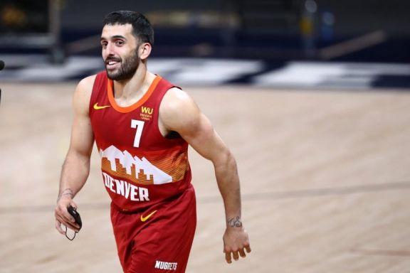 Campazzo y Denver inician su sueño en los Playoffs de la NBA