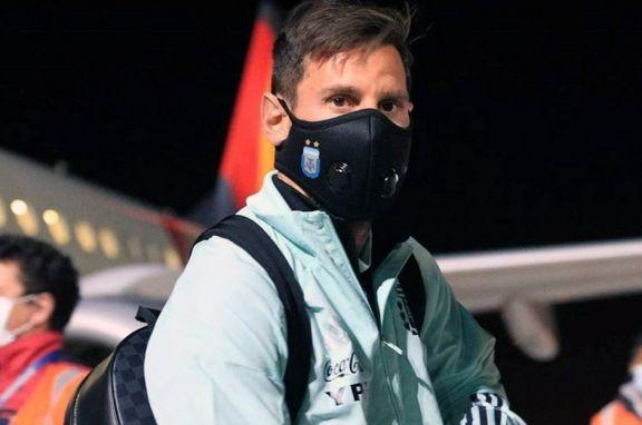 Messi llegó al país y se suma al seleccionado argentino en el predio de Ezeiza