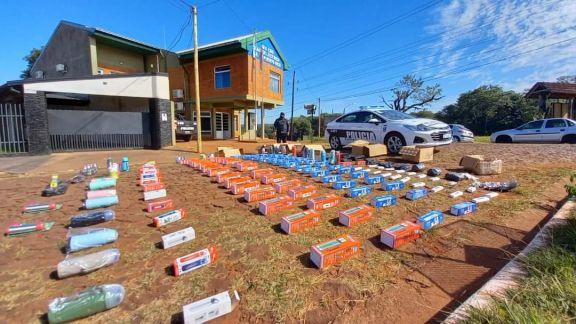 Puerto Rico: decomisan mercadería ilegal en inmediaciones a la terminal de ómnibus