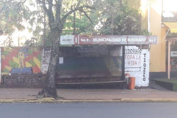 Fuerte impacto del paro de colectivos en Eldorado