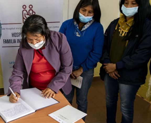 """El Samic Iguazú inició al proceso de certificación como """"Hospital Amigo de la Familia Indígena Mbya Guaraní"""""""