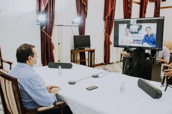 Herrera Ahuad mantuvo entrevista mediante videoconferencia con Meta Data.