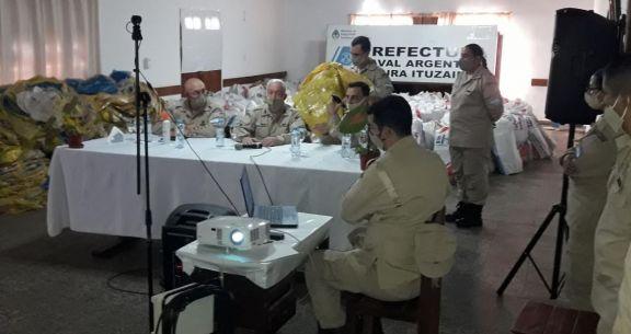 Frederic felicitó al personal que participó del mega operativo en Ituzaingó
